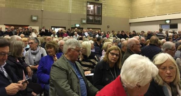 Its not just Ardleigh – Hundreds of residents pack out meeting to have their say on plans for 140 homes